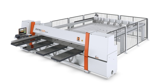 The HOLZ-HER ZENTREX 6220 dynamic is an ideal configuration for charging the machine using intelligent vacuum charging systems