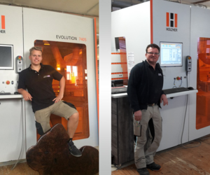 Our reference customer Suske with a machining centre