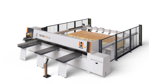 The HOLZ-HER TECTRA 6120 lift with its massive lifting table is the perfect solution for series production