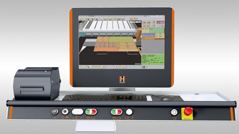 The high-capacity Software package for big HOLZ-HER industrial saws